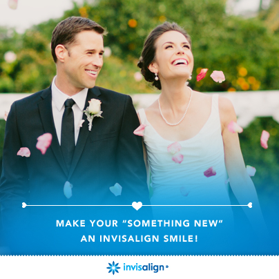 Invisalign wedding braces